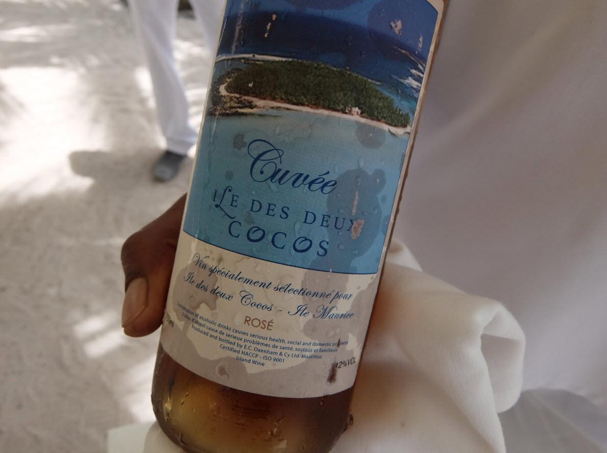 Cuvee speciale Ile des Deux Cocos