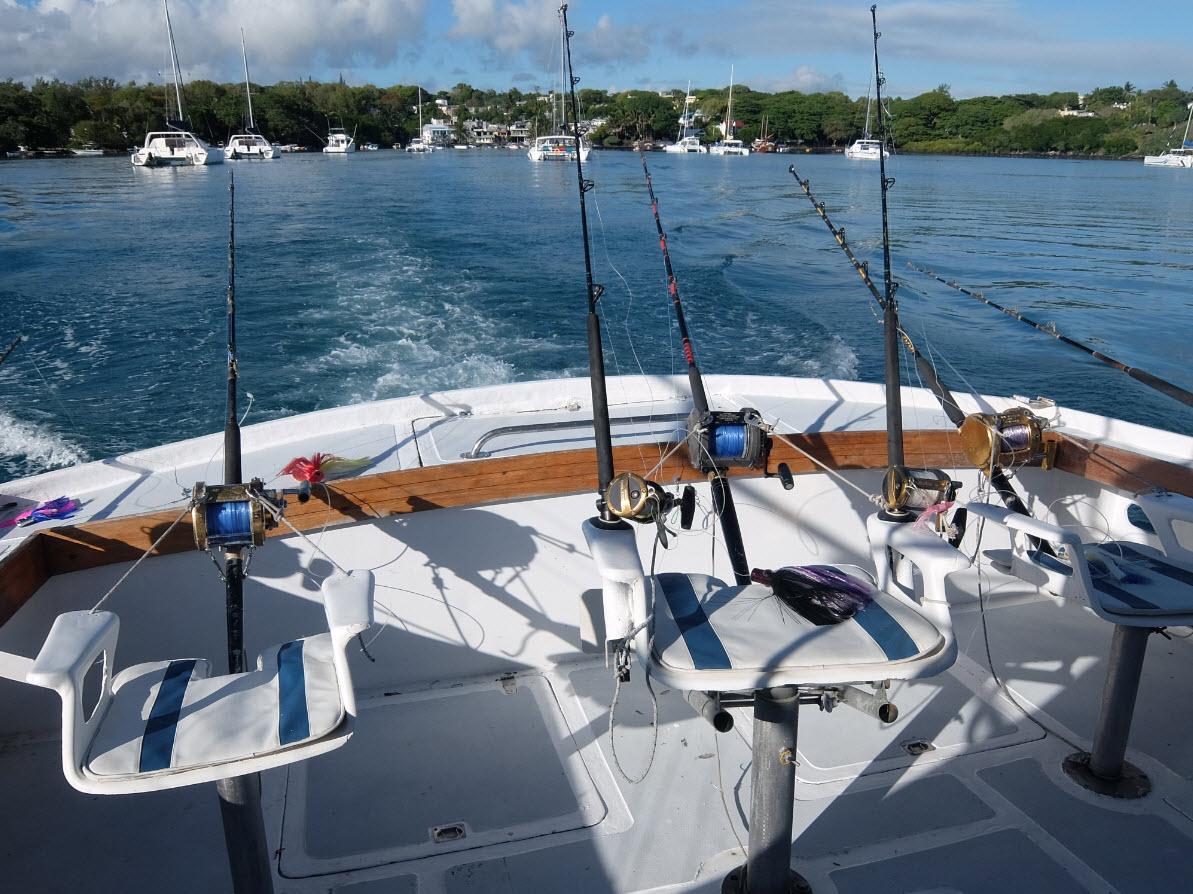 Sortie peche en haute mer a Maurice
