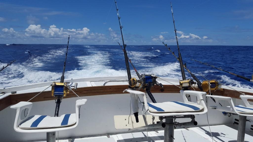 Peche en haute mer Ile Maurice