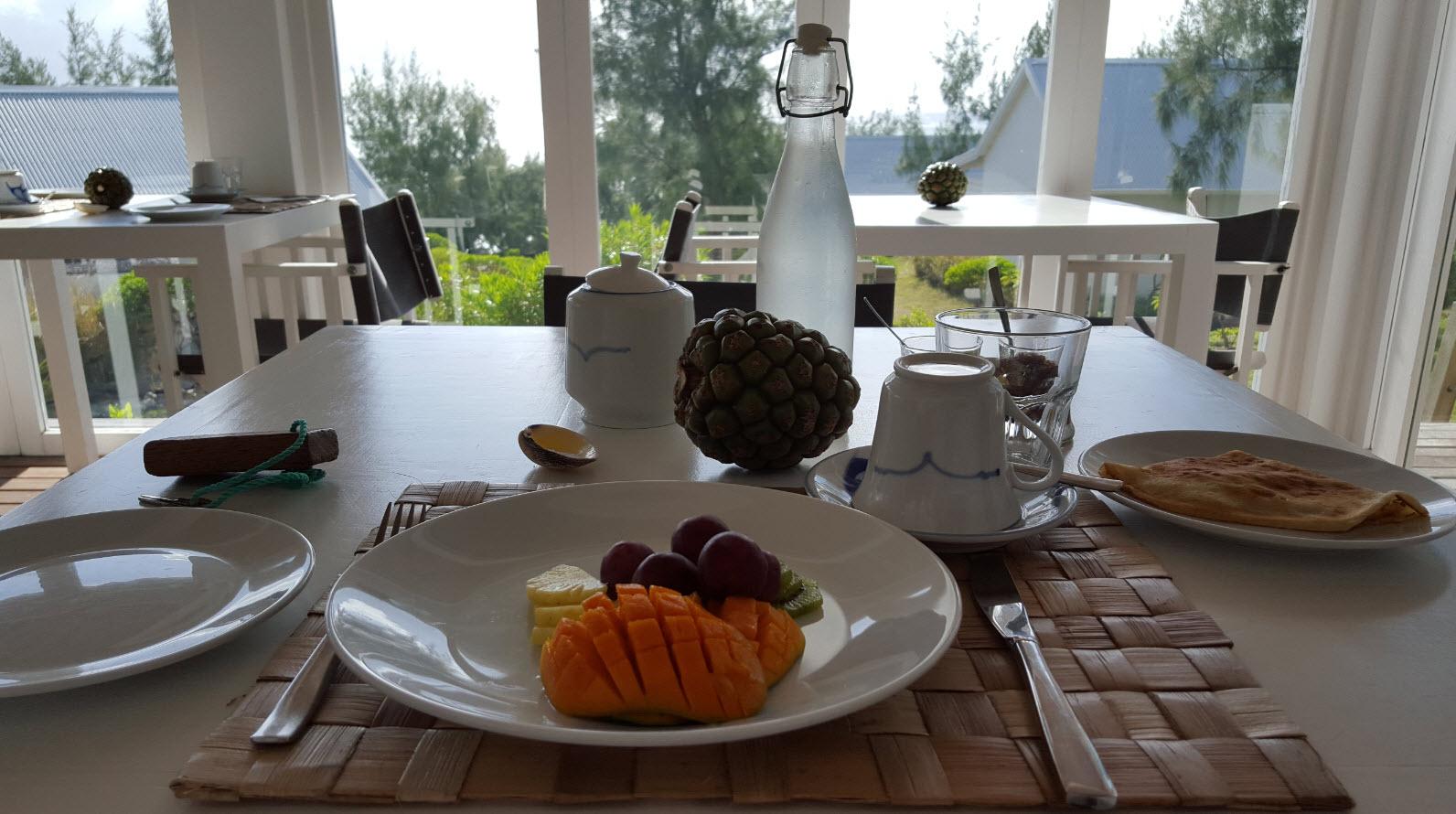Petit dejeuner du matin