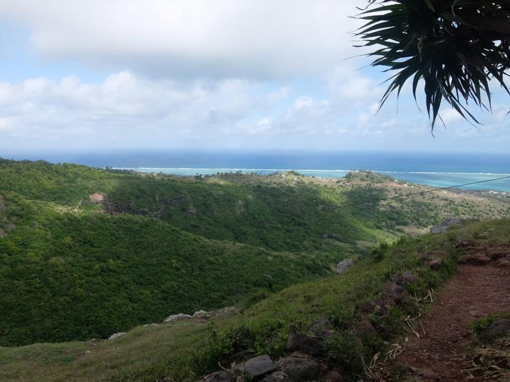 Vue sur le lagon de Rodrigues