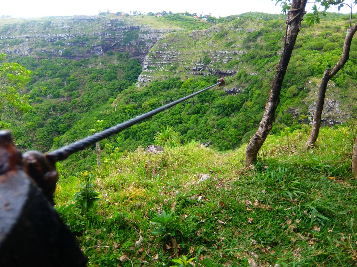Paysage magnifique de Rodrigues