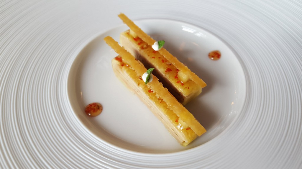 Entree foie gras
