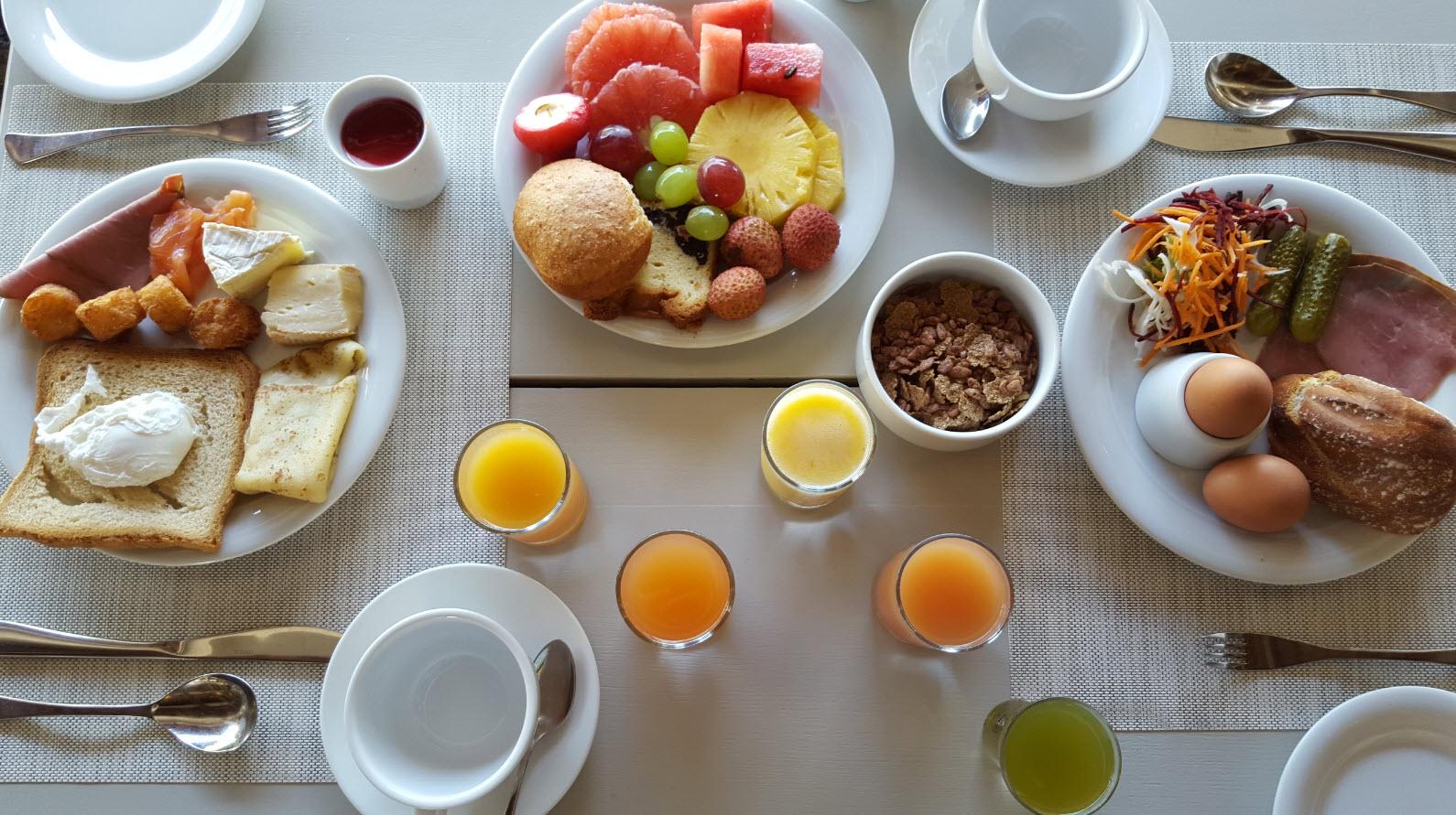 Bon petit-dejeuner