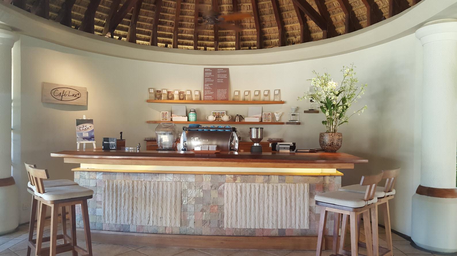 Cafe LUX* pour bien commencer la journee