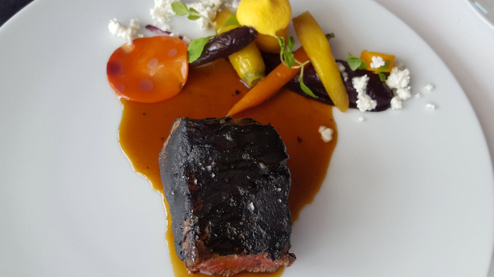 Boeuf charbon et carottes