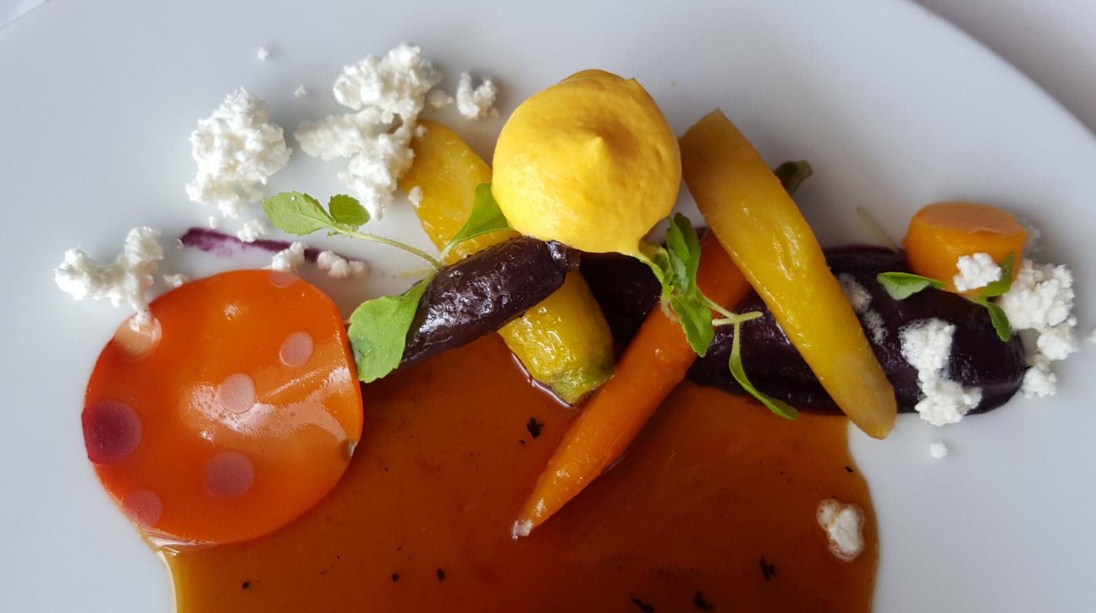 Declinaison de carottes