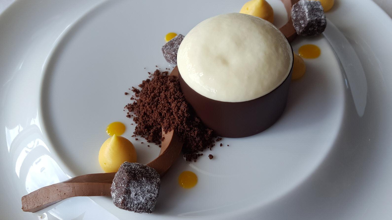 Ganache chocolat suisse
