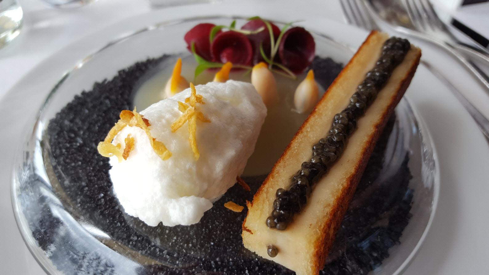 Coquillages et caviar