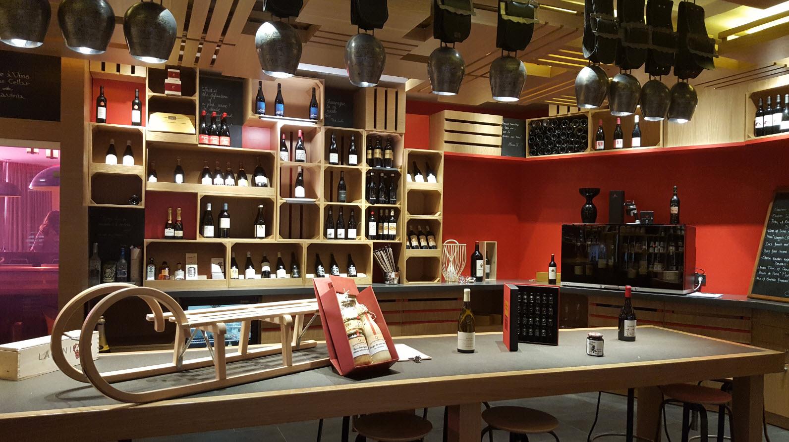 Epicerie fine et cave a vins