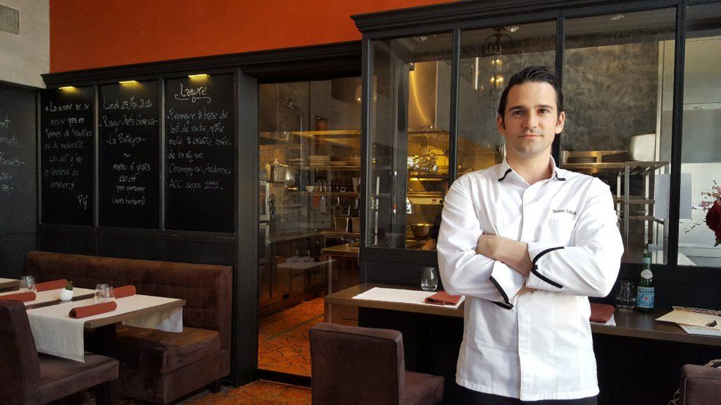 Chef Yoann Caloué Genève