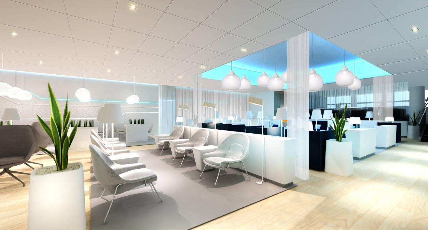 Business Class Lounge Finnair