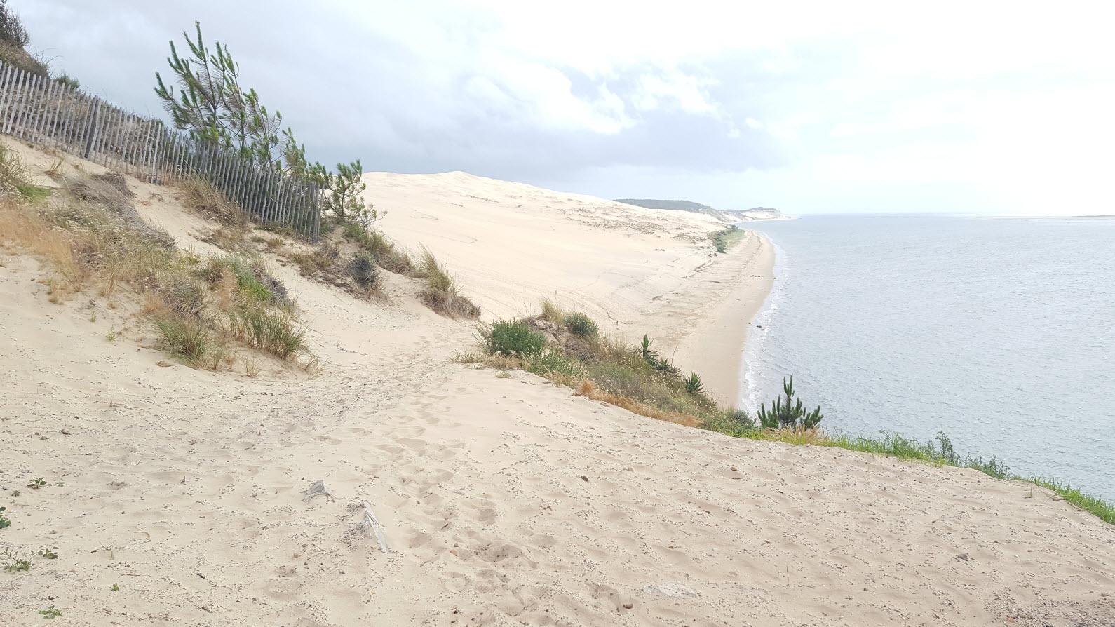 La Dune depuis l'hotel La Coorniche