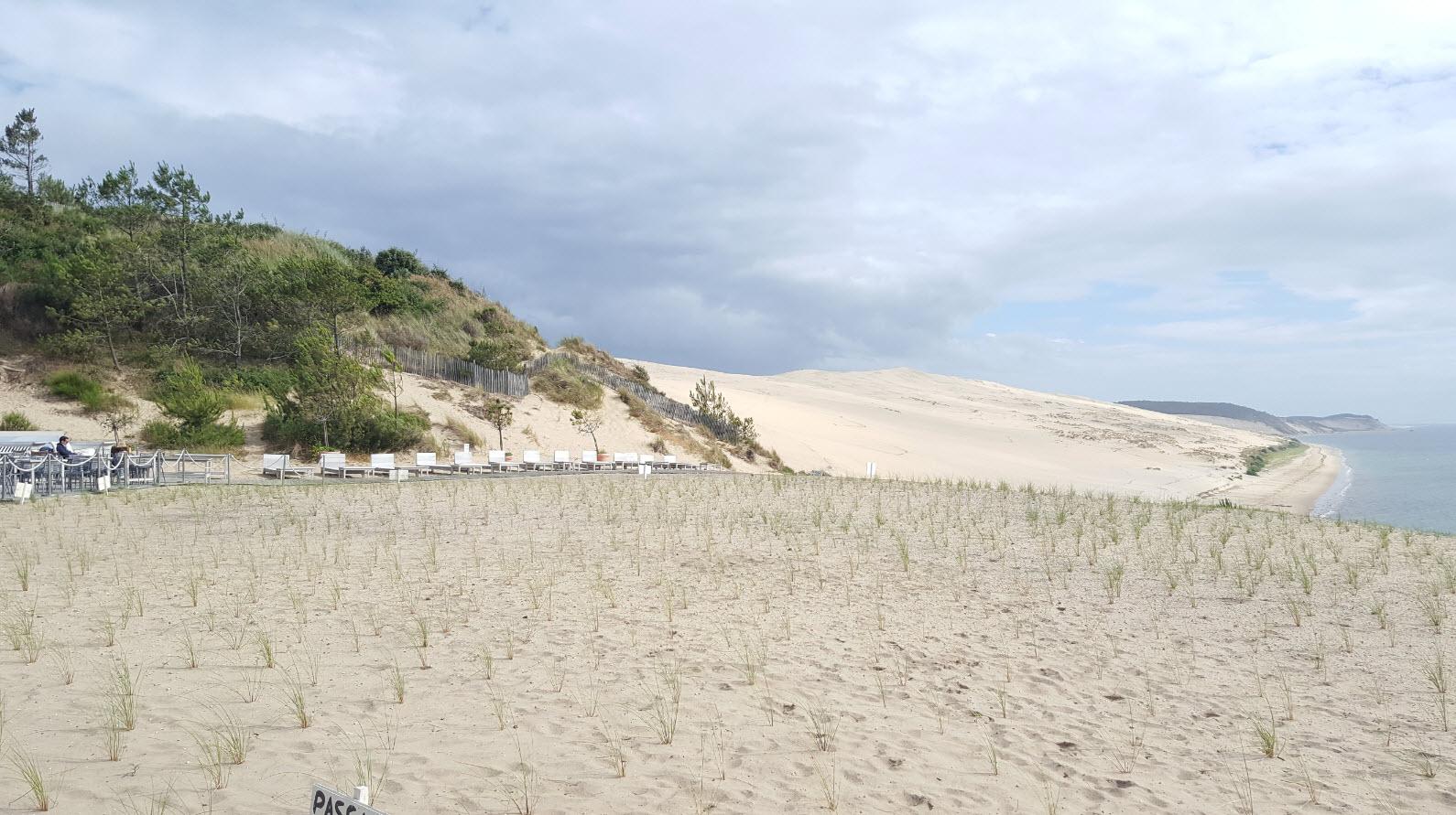Dune vue de cote