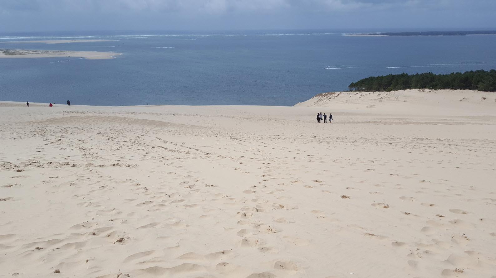 Marcheurs sur la dune