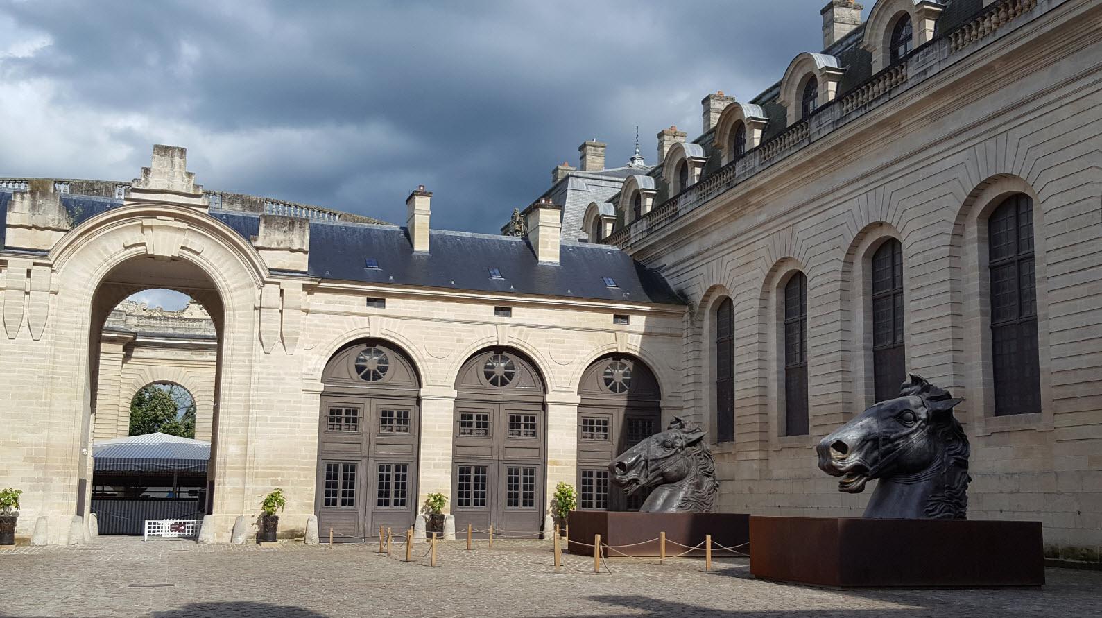 Cour des remises Chantilly