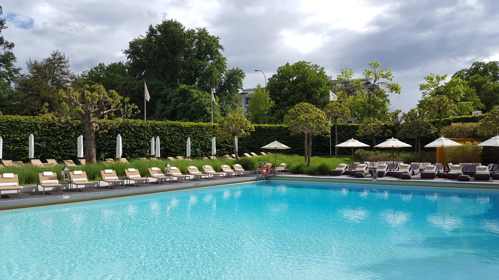 Piscine hotel Geneve