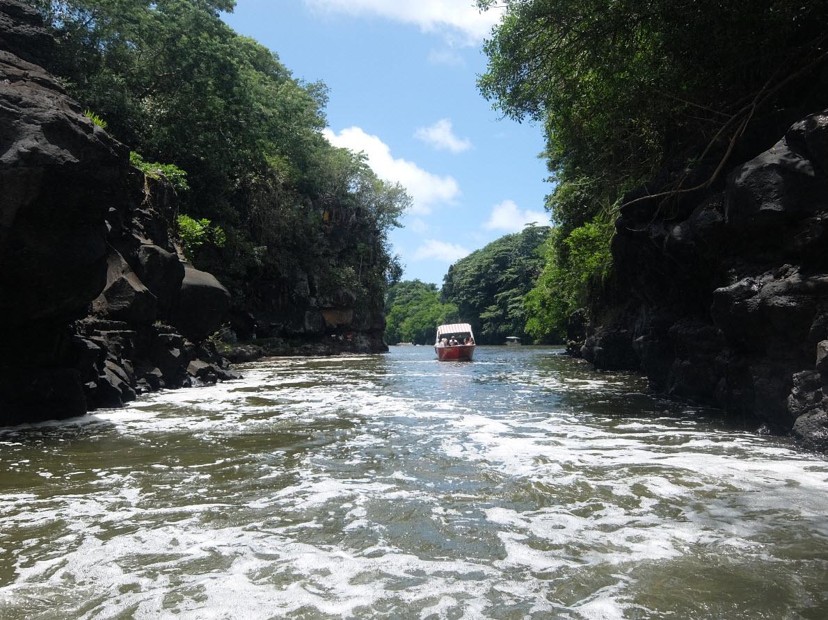 Chemin vers la cascade