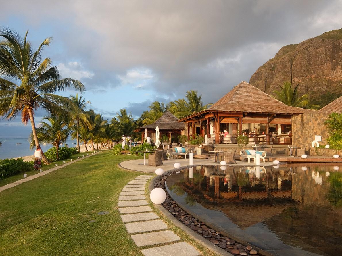 Hotel dans un cadre paradisiaque