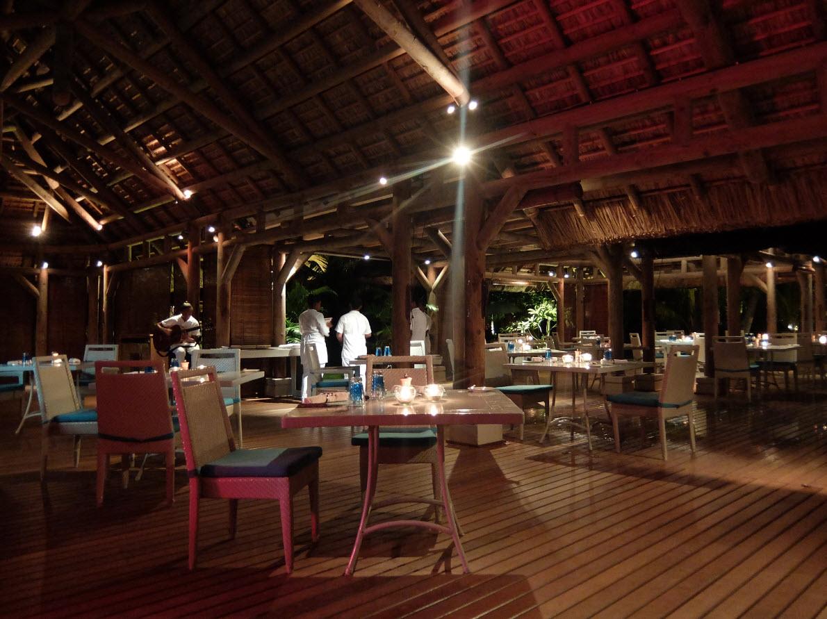 Restaurant The Beach Maurice
