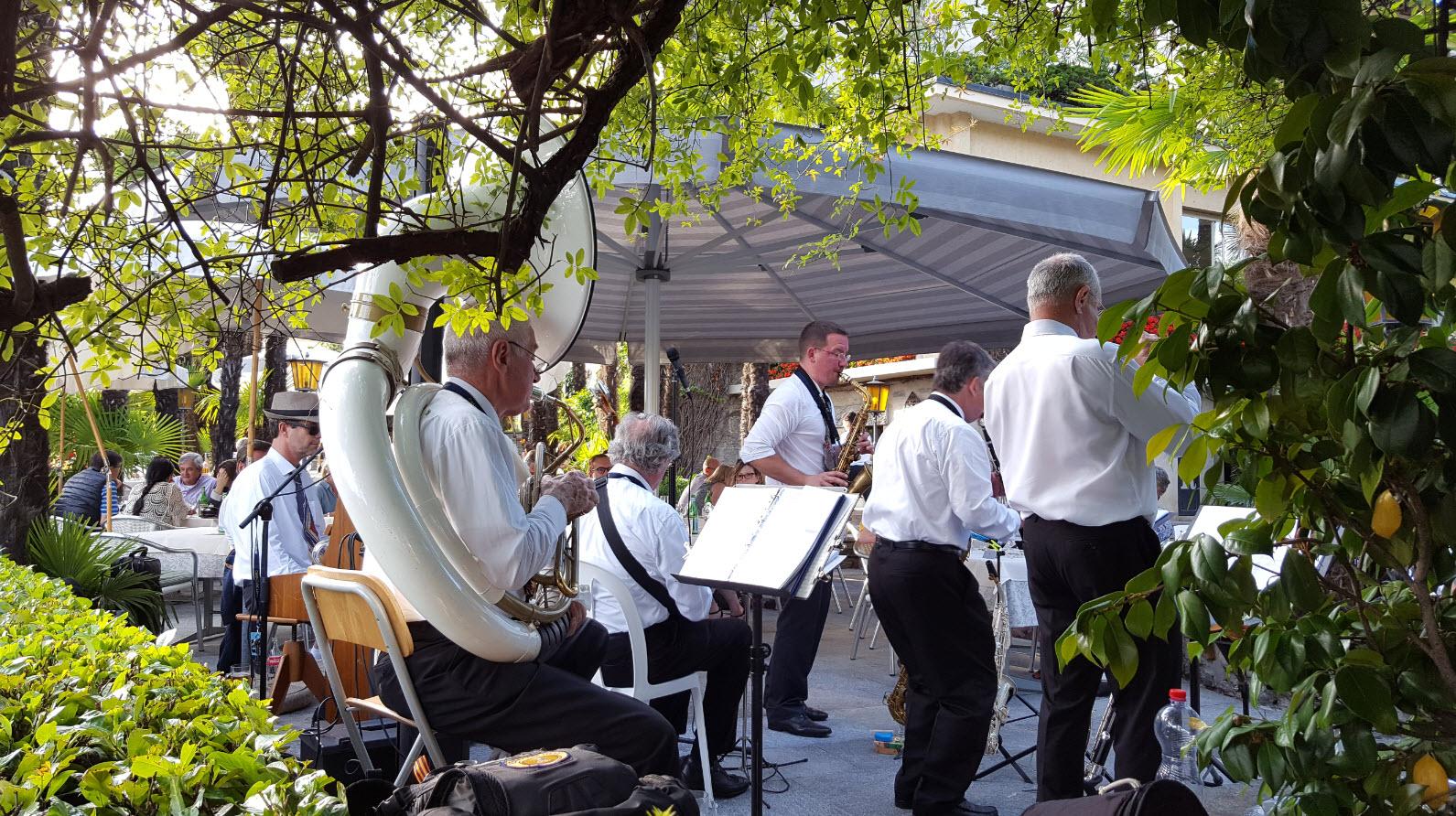 Concert dans un restaurant