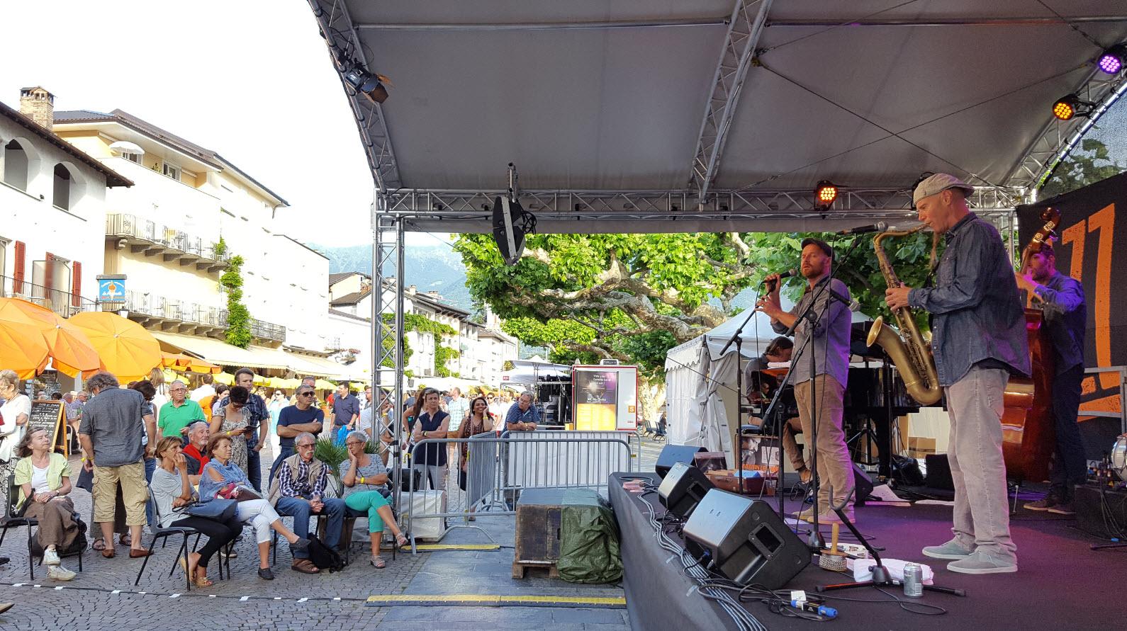 Festival de jazz en Suisse