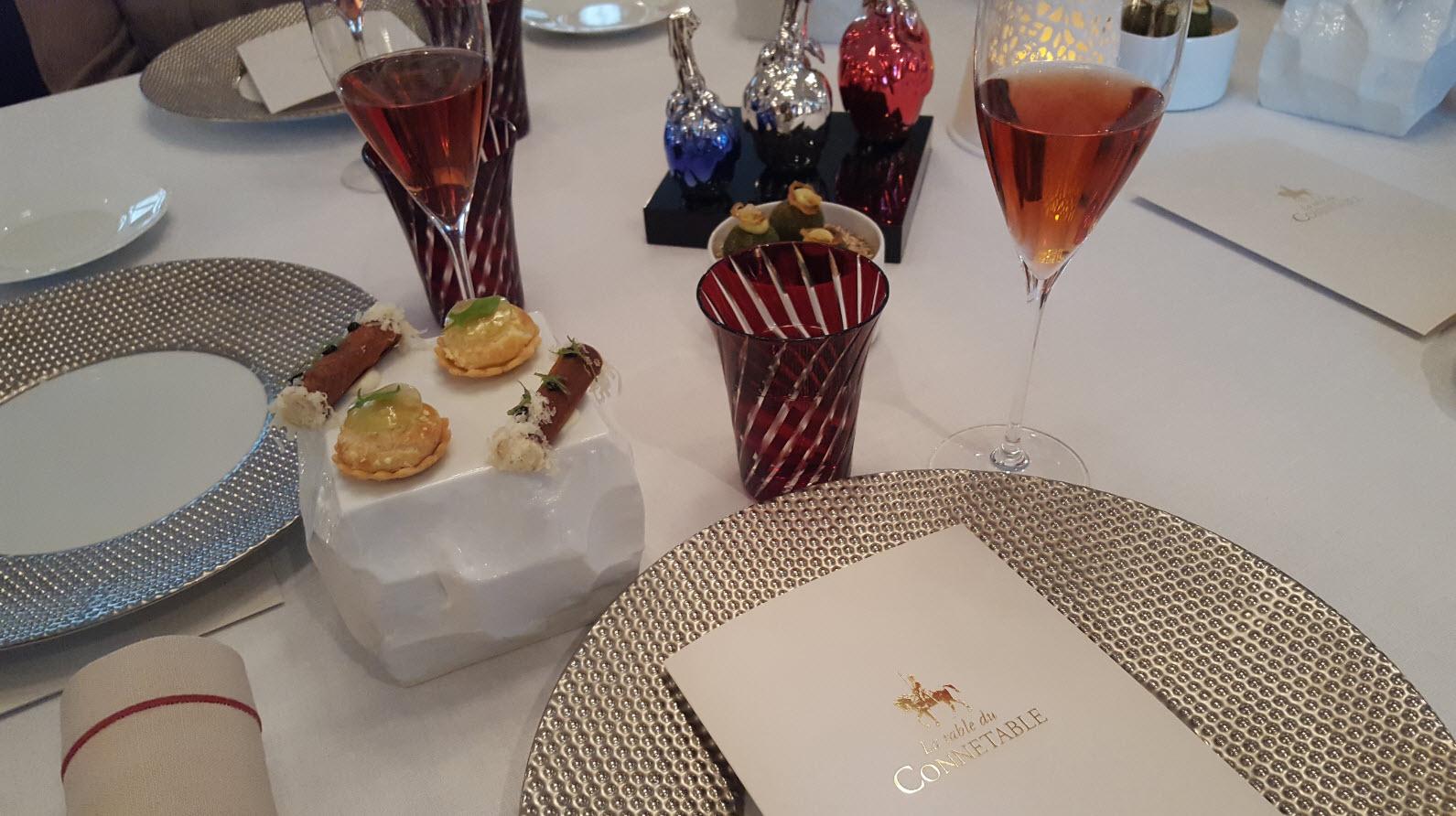Amuse bouche et Champagne