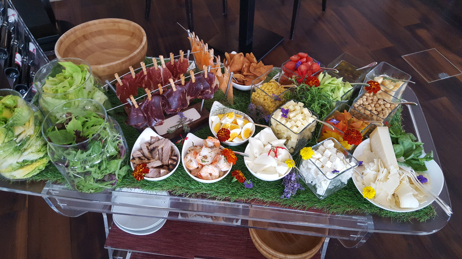 Bar a salade du Kempinski a Geneve