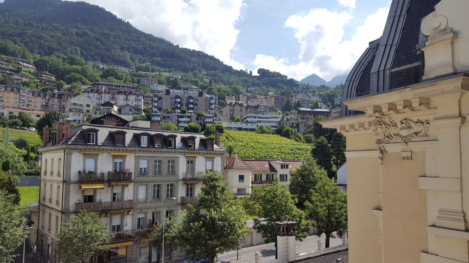 Vue cote Montreux