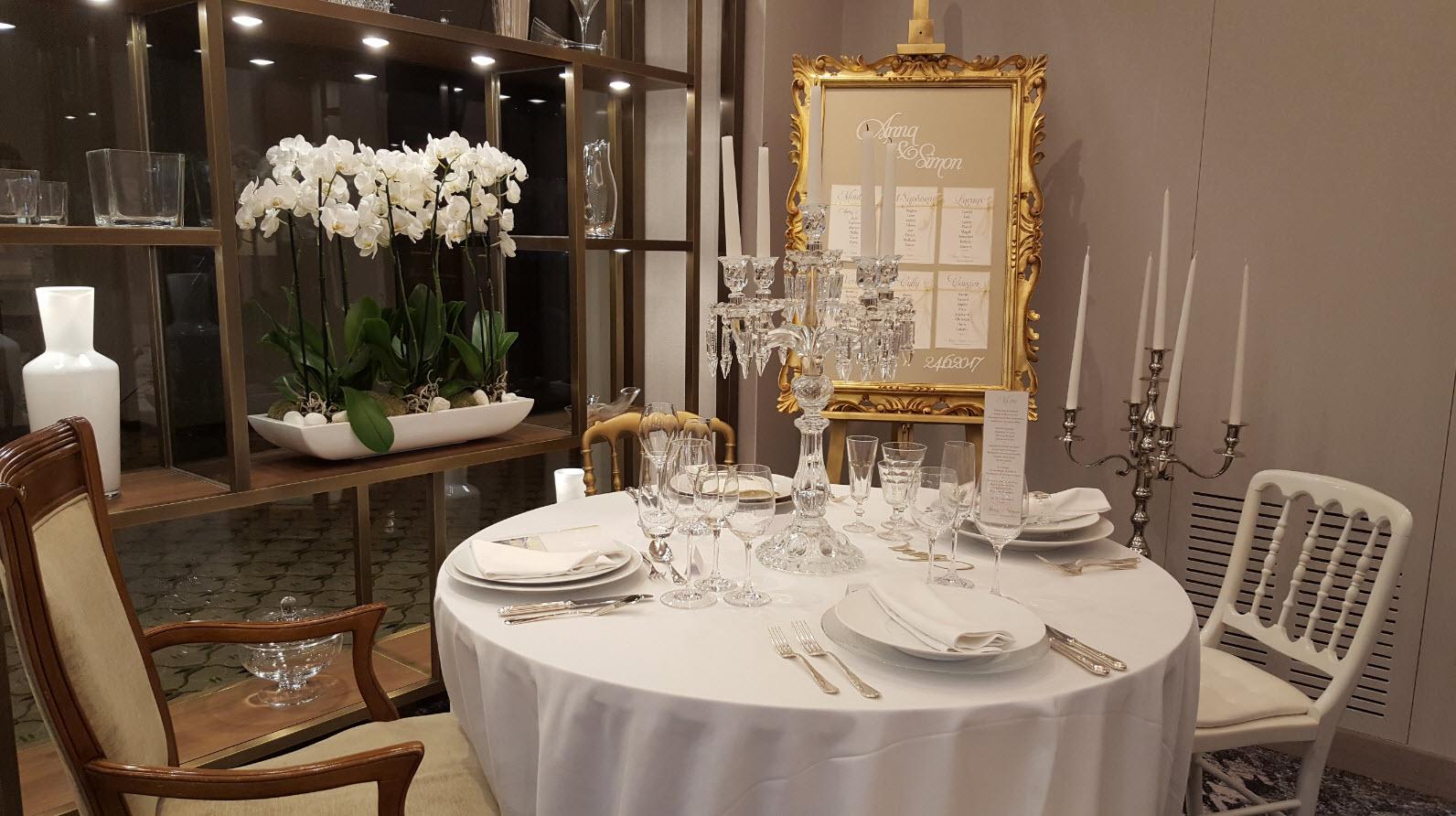 Showroom mariages au Montreux Palace