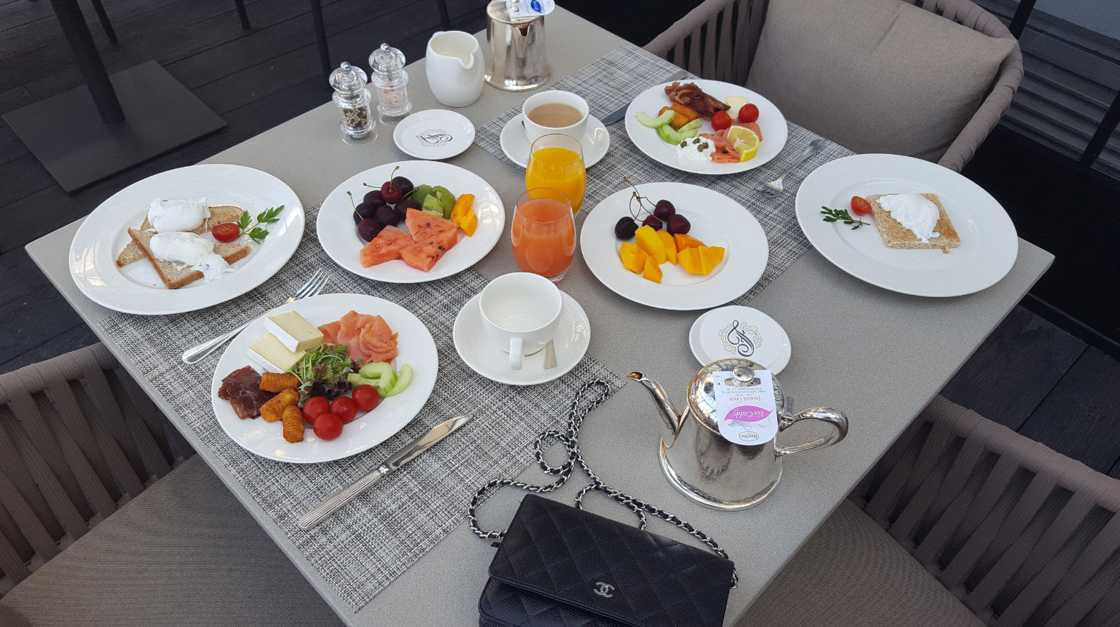 Petit-dejeuner Fairmont Montreux Palace