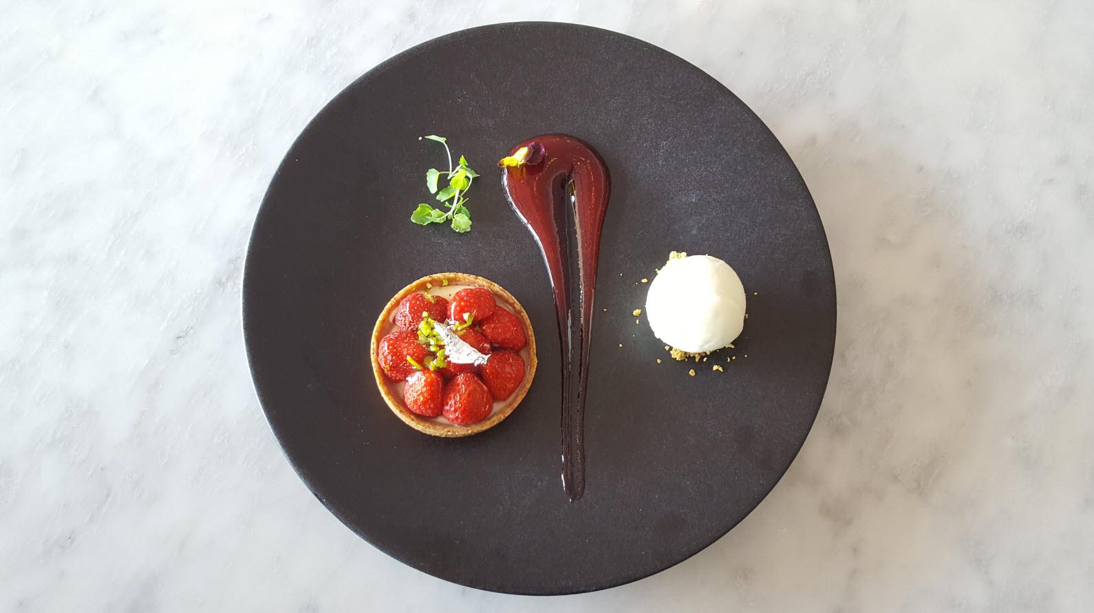 Tartelette a la fraise