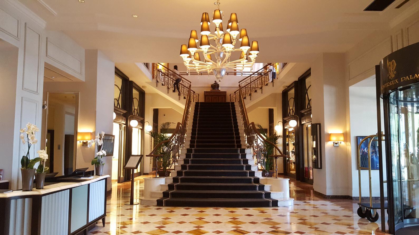 Lobby du Montreux Palace