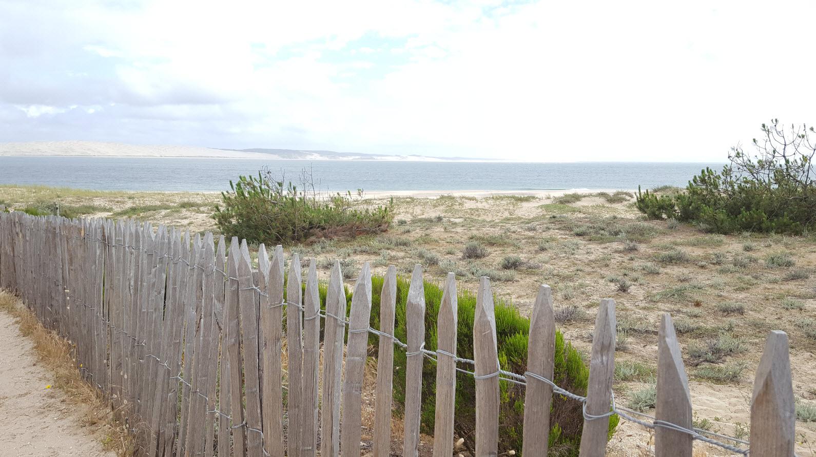 Pointe du Cap Ferret et vue sur la dune du Pyla