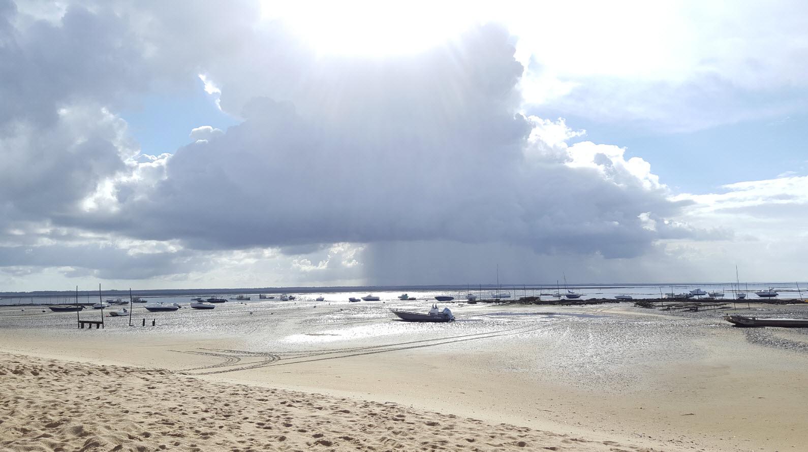 Lever de soleil plage des Jacquets