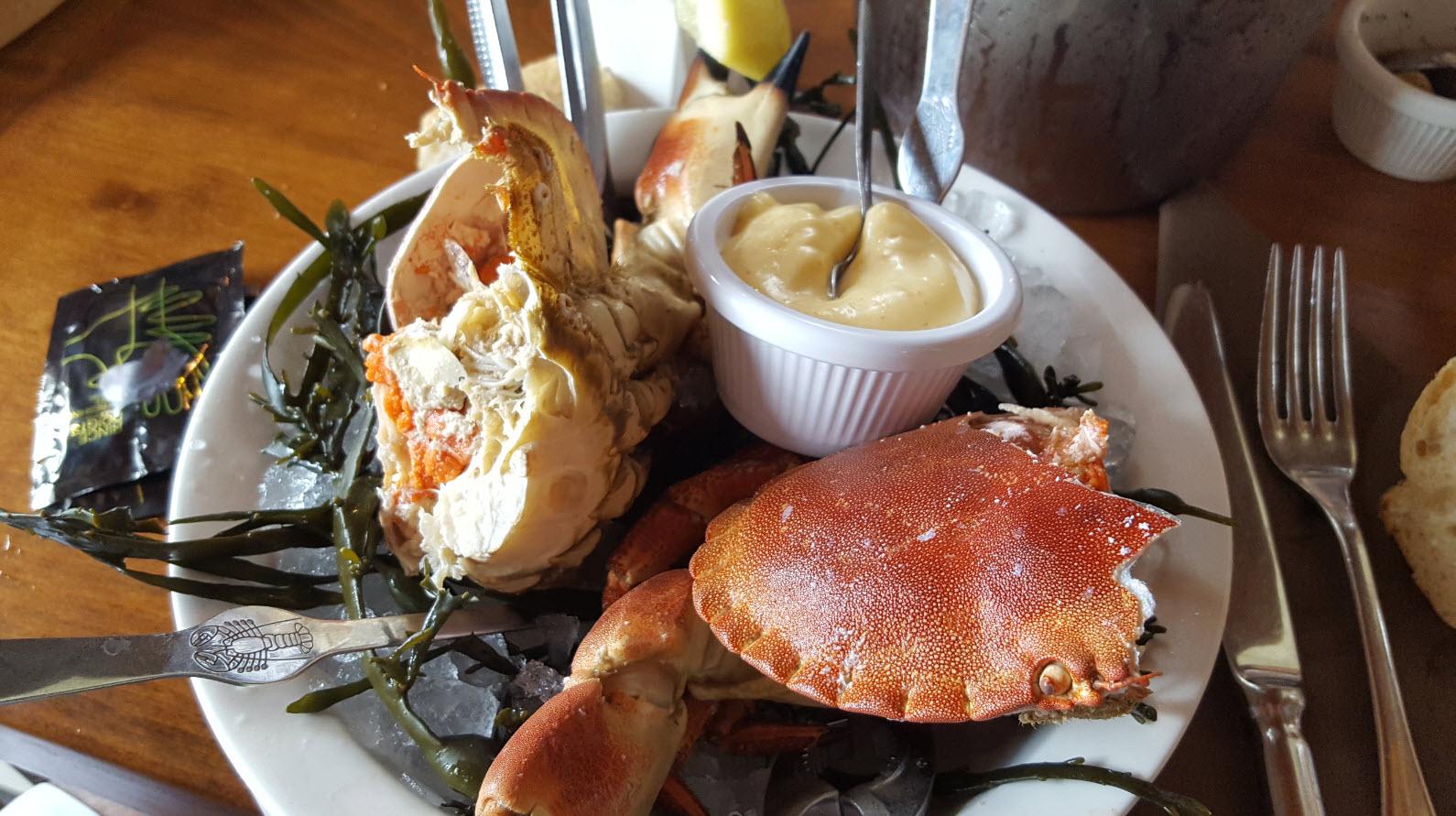 Seafood encore et toujours