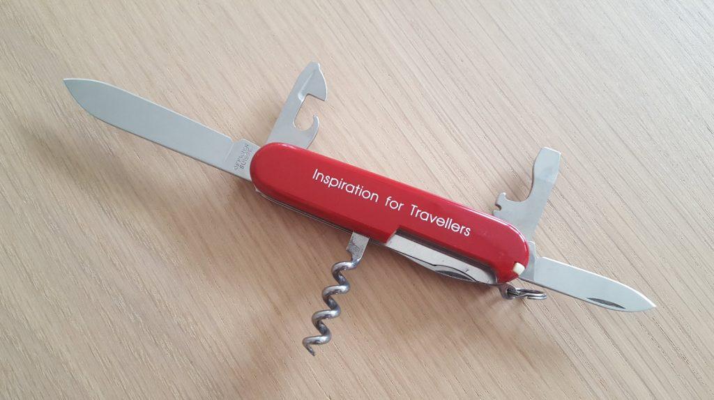 J'ai fabrique mon propre couteau Victorinox