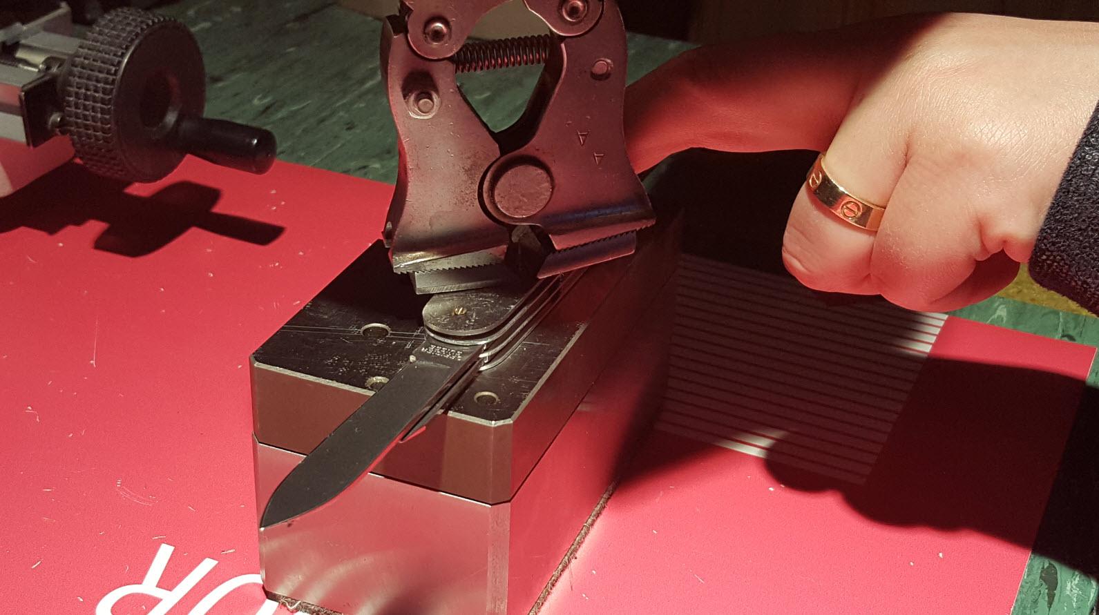 Experience montage de couteau Victorinox en Suisse