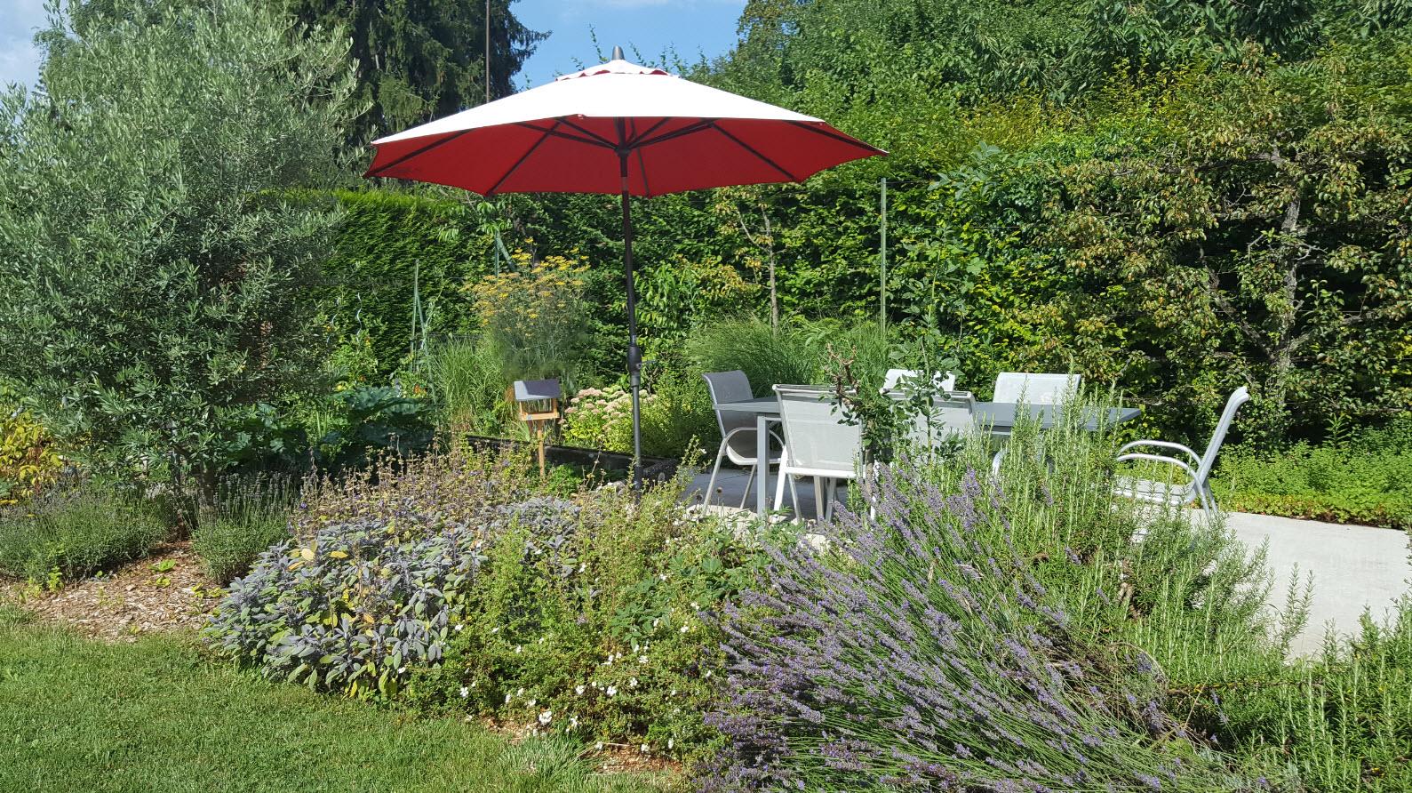 Jardin Geneve chambre hotes