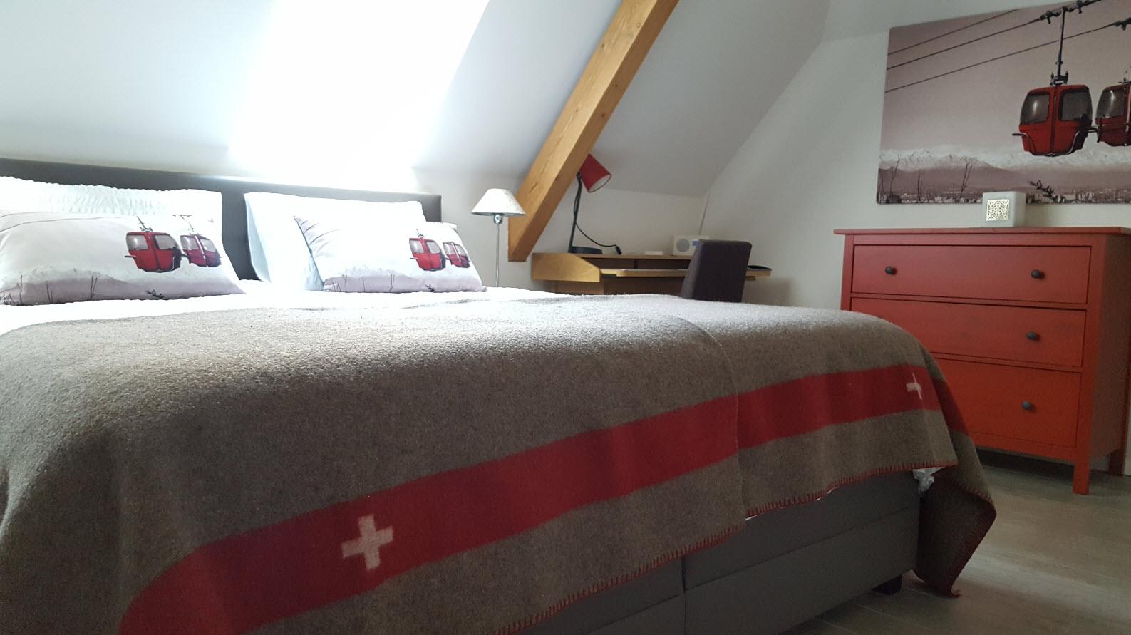 Decoration couverture armee suisse