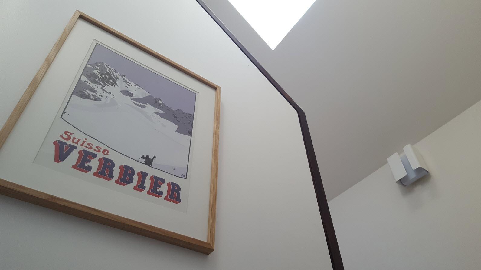 Swiss ski station Verbier