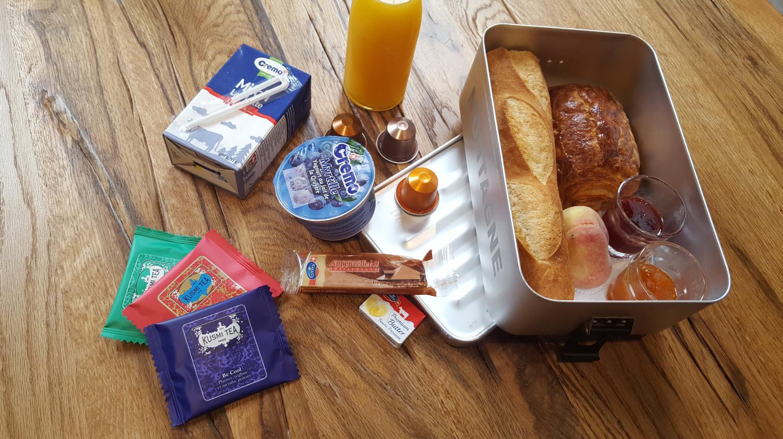 Livraison de petit dejeuner