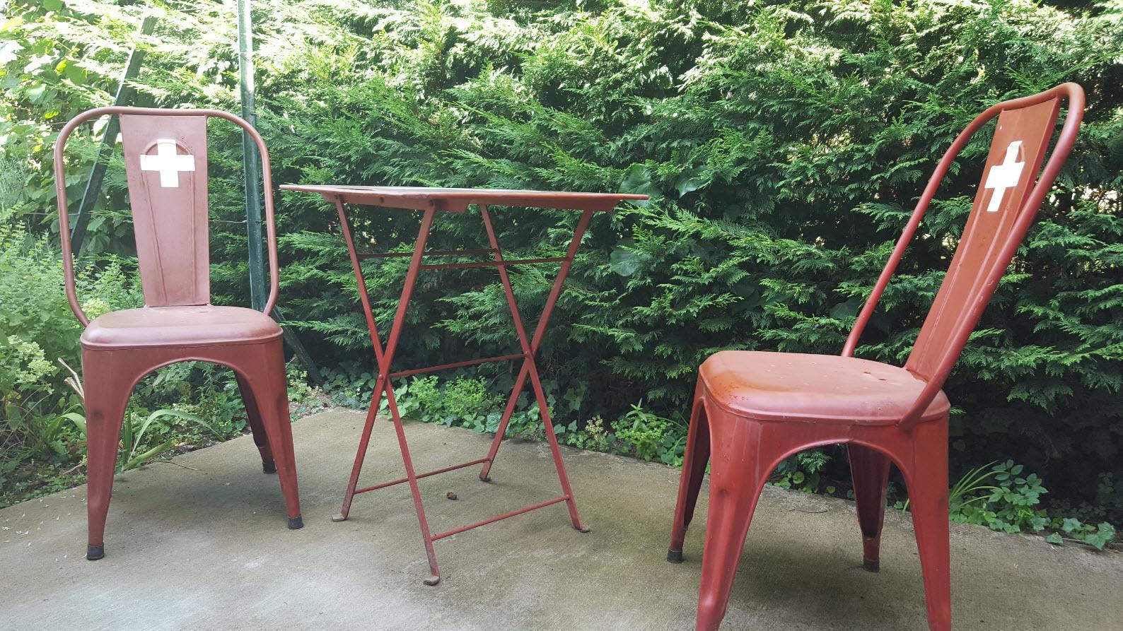 Chaises design Suisse