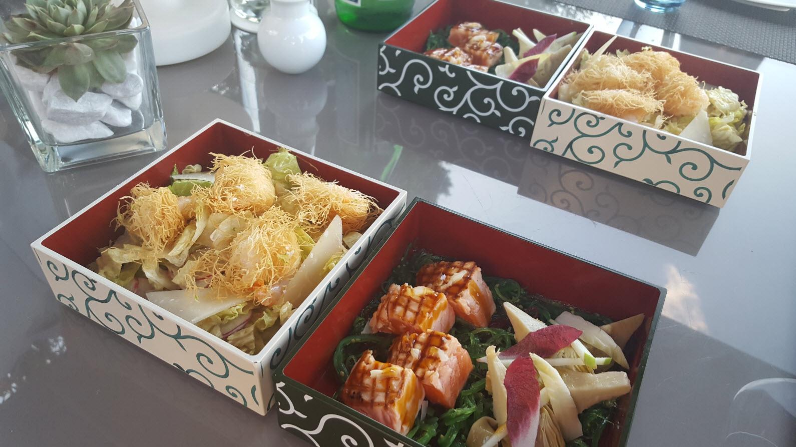 Bento box restaurant japonais Geneve
