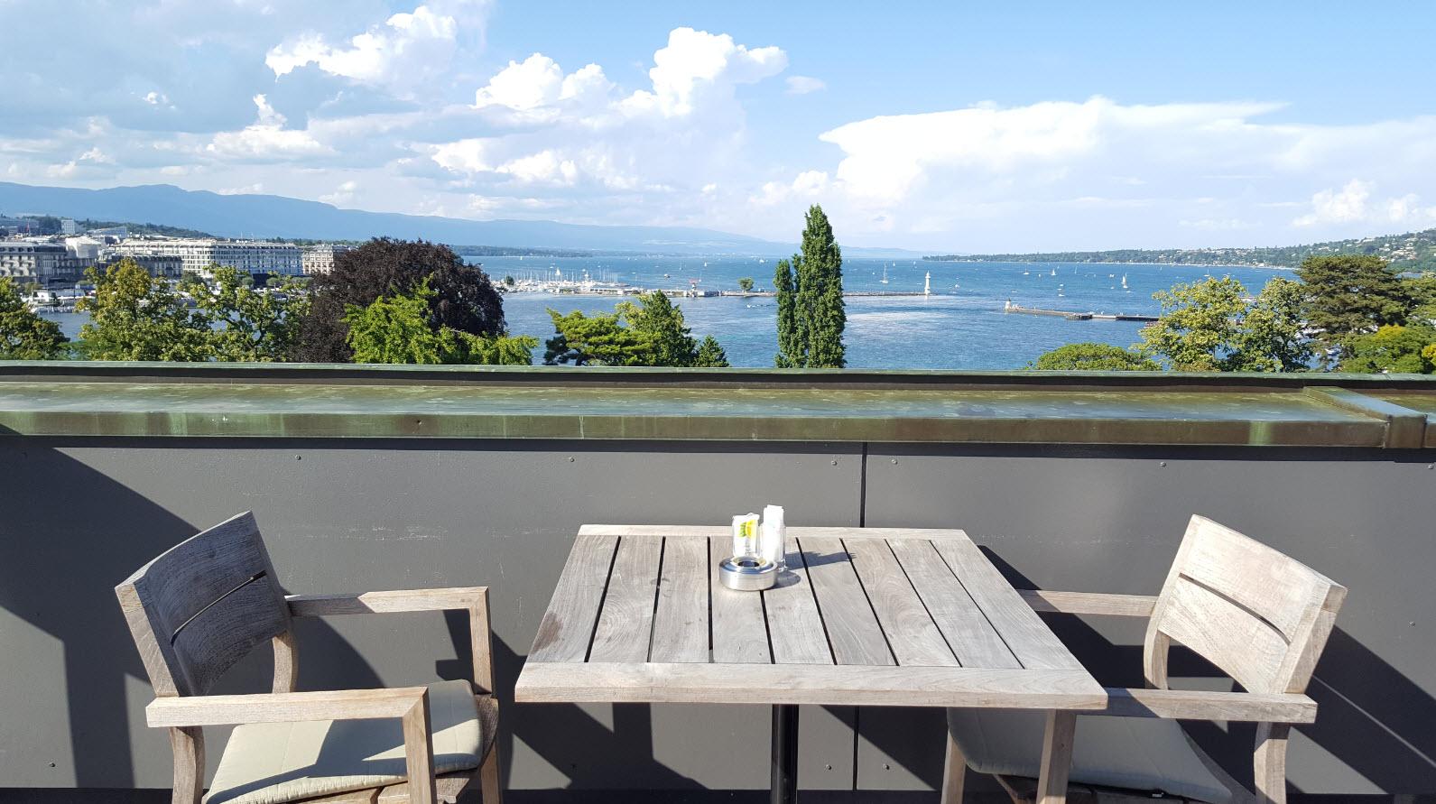 Rooftop Hotel Metropole Geneve