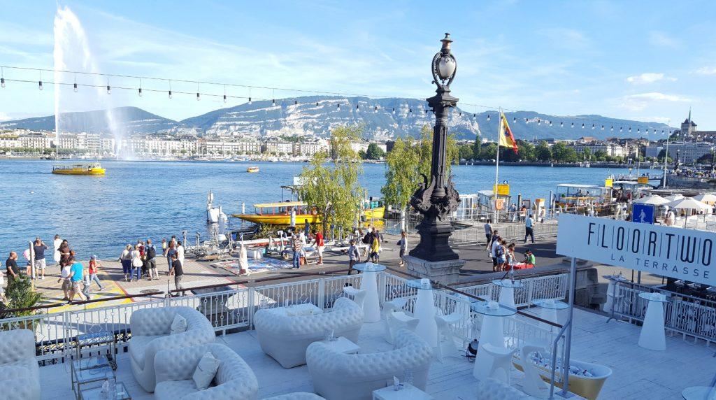 Terrasse Floortwo au Kempinski Geneva