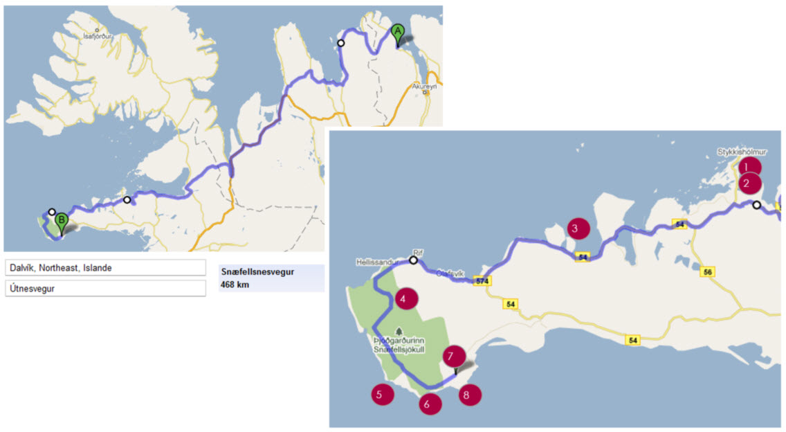 Road trip tour Islande en 1 semaine itineraire jour 5