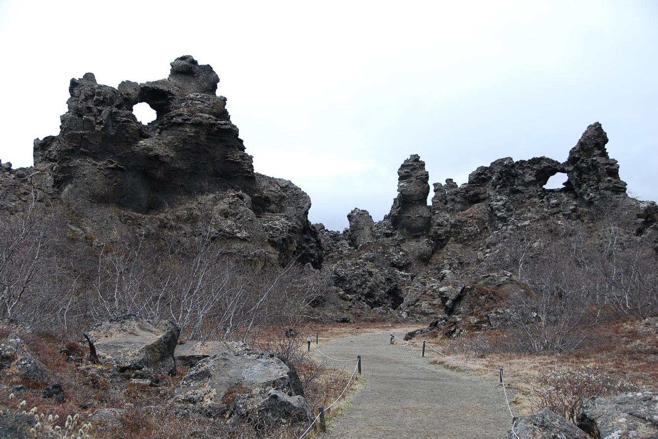 Itineraire Road trip Islande vers Myvatn