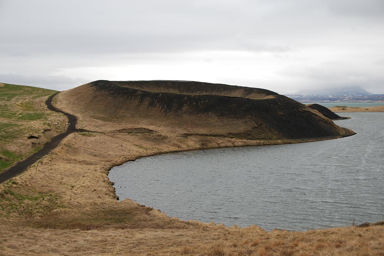 Itineraire Road trip Islande volcan Myvatn