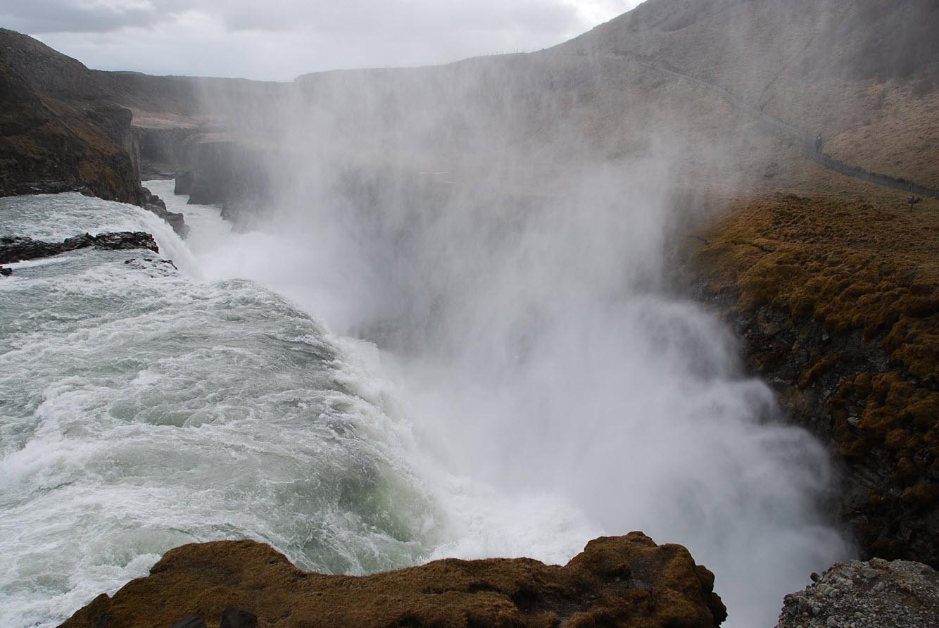 Programme tour Islande Gullfoss waterfall